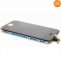 Wholesale 50 OFF HOT RESALE For iphone4 s Gen full complete LCD with digitizer panel screen
