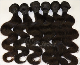 Wholesale Sales promotion Hot Beauty Hair Virgin Malaysian Remy Human Hair Weft quot quot