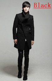 Wholesale Fashionable New Style Men Trench Coats Men s Slim Length Coats Men s Overcoat Free Ship Mixed Order