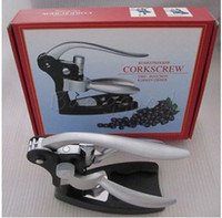 Wholesale Rabbit Red Wine Opener Tool Cork Bottle Tire Corkscrew Collar Pourer Gift Set