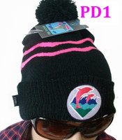 Wholesale Beanies fashion knitted hats winter beanie caps sprots hat PINK dolphin snapbacks hip hop hat