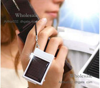 Wholesale Xmas Newest MD968 Mini Solar Battery Panel Charger Portable For IPhone G S G IPAD ipod