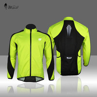 Wholesale Cycling Coat soft shell Windproof Coat winter wind resistant jacket Long Sleeve Green