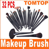 Wholesale Free Ship Professional Makeup make up Cosmetic Brush Set Kit Tool Roll Up Case H4456