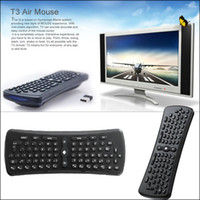 Wholesale Dropship G Wireless Mouse Mini D Gyroscope Anti shake Air Mouse Keyboard For Andriod TV PC