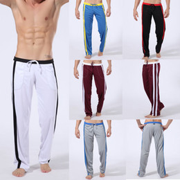 Wholesale NEW Athletic Man Men Sport Sexy Long Pants Loungewear Fit Size M L XL Inch Colors