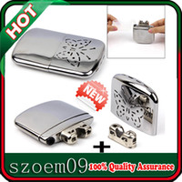 Wholesale New Portable Handwarmer Platinum Pocket Handy Hand Warmer Free Replacement Burner