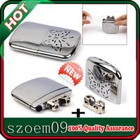Wholesale New Portable Handwarmer Platinum Pocket Handy Hand Warmer Free Replacement Burner