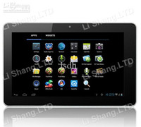 Wholesale New quot Tablet pc TFT digital display Android amlogic cortex A9 Dual core MP3 MP4