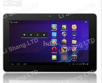 "10.2 inch Capacitive Screen Android 4.0 Top Quality 10.2"" Tablet pc TFT digital display Android 4.0 amlogic cortex A9 Dual-core MP3 MP4"