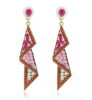 Wholesale Crystal Long Earrings Dangle Earring Jewelry