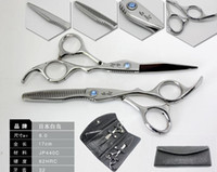 Scissors Kit bag hand make - Hot Sale Matching JP HAKUCHO Made Of C Hair Cutting Thinning Scissors with Free Bag Comb