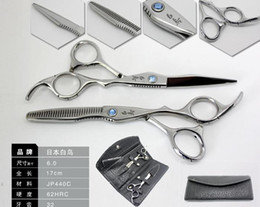 Wholesale Hot Sale Matching JP HAKUCHO Made Of C Hair Cutting amp Thinning Scissors with Free Bag Comb