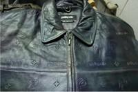 pelle pelle jackets - new arrival quality PELLE PELLE men s hip hop leather jacket size color blue brown