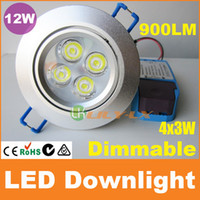 Wholesale Dimmable led downlight W x3W recessed ceiling light lm CE RoHS SAA C Tick Australia