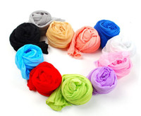 Wholesale Free transport candy colored solid color shawl scarf scarf scarf no catcher scarf factory
