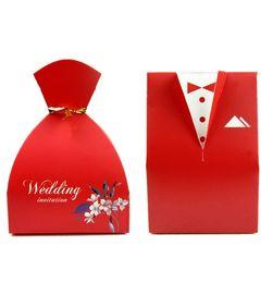 Wholesale Hot Sale Wedding Candy Boxes Colors Wedding Gifts Wedding Favors Wedding Candy Bags