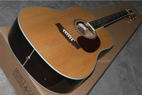 Right-handed classic guitar - Classic Acoustic Dreadnought Guitar Solid spruce Abalone Binding Body flower inlay fret board Acoust