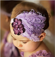 Wholesale Baby headband Christmas baby hair mix style band ornament lovely feather flowers HY235