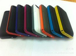 Pack Plus 2000mAh External Backup Battery Case for 4S 4G Power Portable Charger Cover Battery charger for 4s 4g 10pcs