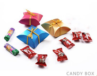 Red Paper Simple Wedding Favor Candy Box Wedding Accessory Favor Holders Pretty Wedding Candy Bag