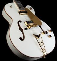 Semi-Hollow Body white falcon - factory Promotions Musical Instruments White Falcon Hollow Body Electric Ebo Electric Guitar