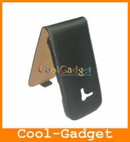 Leather For Samsung Flip Real Genuine Leather Case Flip Real Genuine Leather Case Cover Pouch for Samsung Galaxy S3 S III mini I8190 I8190C08