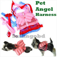 Other belts com - Pet Harness Dog Angel Wing Lash Leads Pet Leash Pet Supply Pet Belts Pet Collar Set Sizes Cute Com