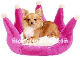 Wholesale MOQ pc Hot selling Princess dog bed crown pet bed Princess dog house colours