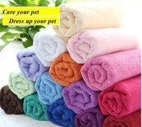 Wholesale 2013 CM High quality Superfine Fiber Pet Towel For Cat And Dog Towel Bat Towel Color Random