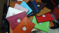 Wholesale 360 Rotating Leather Case Smart Cover For ipad Mini inch Tablet color
