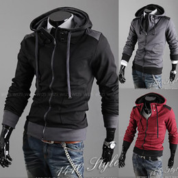 Wholesale New Mens Slim Designed Black Dark Grey Red Wine