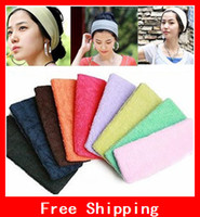 Wholesale Candy Color Sports Yoga Hair Tools Maker Wide Band Forehead Decoration Head Unisex CM