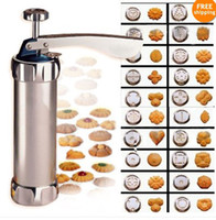 Wholesale Cookie Press Machine Biscuit Maker Cake Making Decorating Gun Kitchen Tools Set