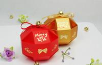 Cheap Favor Bags Candy Box Best Red Paper Wedding Favor