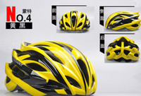 Wholesale Yellow black Gaint cycling Helmet bicycle helmets cycle helmet bike Helmets safety helmets holes