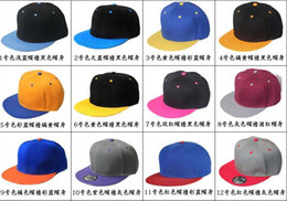 Wholesale Nice Blank Plain Snapback Hats Snapbacks Snap Back Caps Hat Cap Adjustable Mixed Order Hats Caps Can do custom hats cap too high quality
