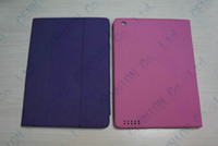 Wholesale new stand leather case cover PU skin for apple ipad ipad ipad quot multicolor