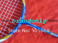 Wholesale 4 pecs Lining badminton rackets New N90II blue color badminton rackets