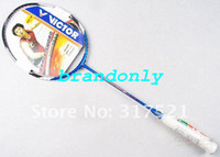 Wholesale 2 pieces Victor Badminton Rackets racquet Brave Sword carbon fibre