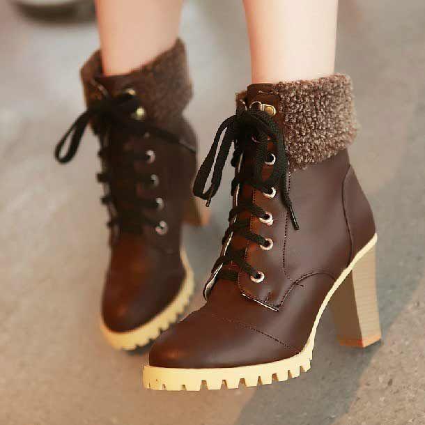 New 2015 Fashion Shoes Women Martin Boots Platform Pumps Short ...