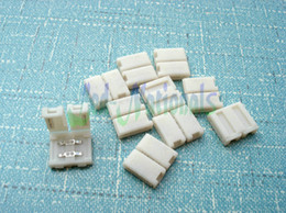 Wholesale 10PCS connectors for led strip light lamp mm width no welding easy to use