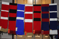 Wholesale Football match fans scarf top quality wool knitted winter soccer scarf CM CM pc