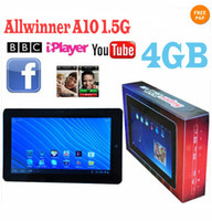 Wholesale 10 android Tablet PC Superpad Flytouch GB HDD GB DDR3 G Allwinner A10 Xmas Gifts