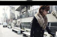 Wholesale Black Men Winter Slim Fit Fur Collar Design Coat Jacket