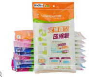 Wholesale 10pcs Vacuum Storage Bag Vacuum Compressed Bag Vacuum space saving compressed bag cm