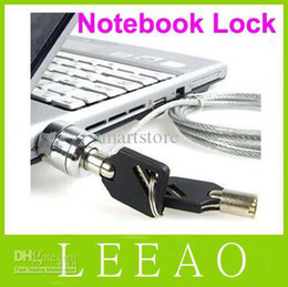 Wholesale 180pcs LEAO Laptop PC Notebook Security Cable Chain Key Lock with keys