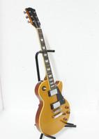 Wholesale Custom Shop Goldtop Standard Solid Electric Guitar Top Musical instruments