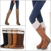 Half Boots avail rubbers - Super women platforms Round Toe knee high boots Long Warm Shoes way wear color Avail