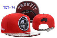 Wholesale Trukfit Snakeskin RED Snapbacks Adjustable Hip Hop Street Snapback Mix Order Hellosport86